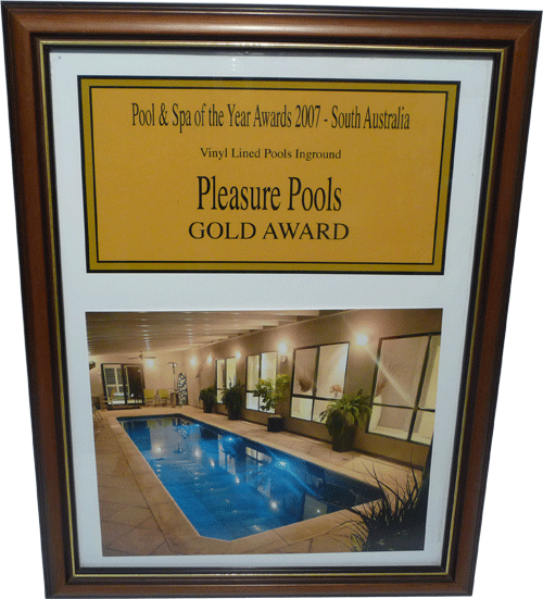 Pool and Spa of the Year Awards 2007 vinyl lined pools inground